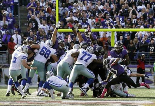 Cowboys Rally Falls Short; Lose In Baltimore 31-29