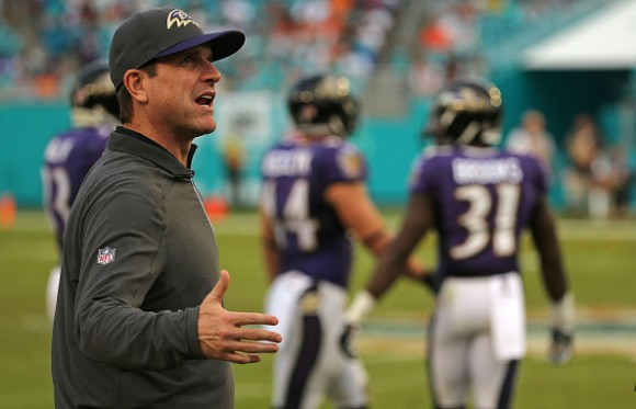 Ravens Fall to 4-8 Following Tough 15-13 Loss to Dolphins in Miami