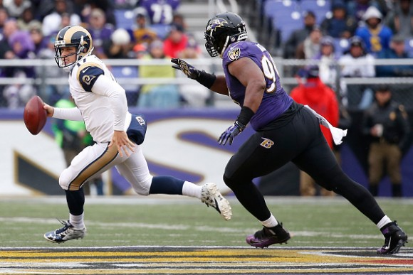 Ravens Decline Option on DE Chris Canty