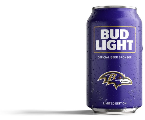 Ravens Fans: Bud Light Has Created A Can Just For You