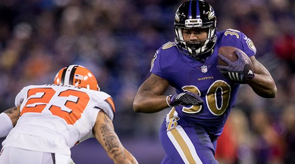 Ravens RB Kenneth Dixon Suffers Torn Meniscus