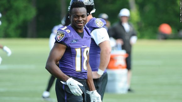 Ravens Likely to Be Without WR Jeremy Maclin for Saturday's Game vs Colts
