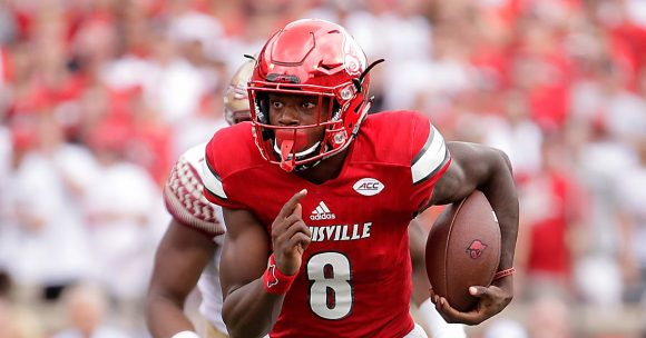 Ravens Coach John Harbaugh Impressed with the Accuracy of New QB Lamar Jackson